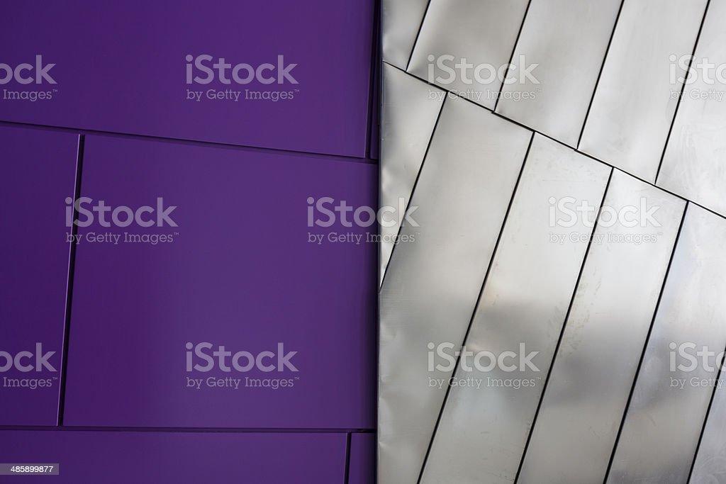 Purple Lines stock photo