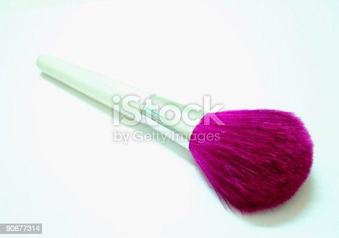 istock Purple Make Up Brush 90677314