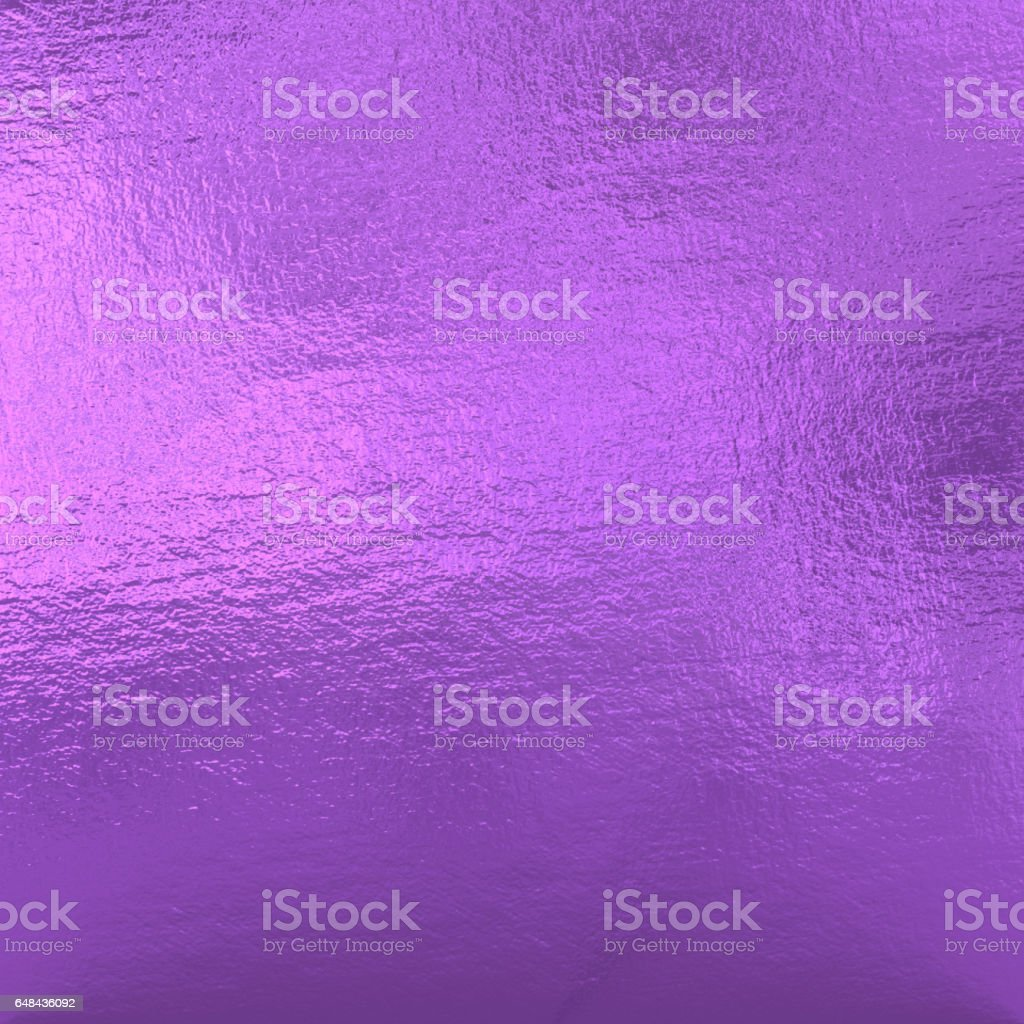 Purple Metallic Foil stock photo
