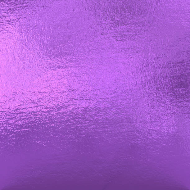 purple metallic foil - violet stock photos and pictures