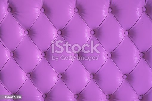 Close up leather padded upholstered fabric texture