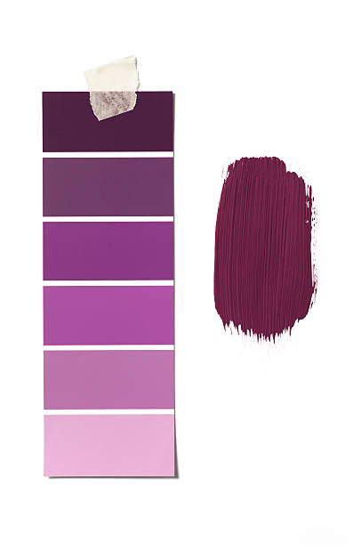 Lila Farbe swatch – Foto