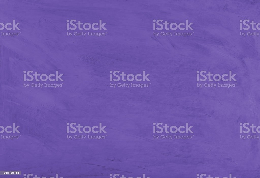 Purple painted textured abstract background with brush strokes in...