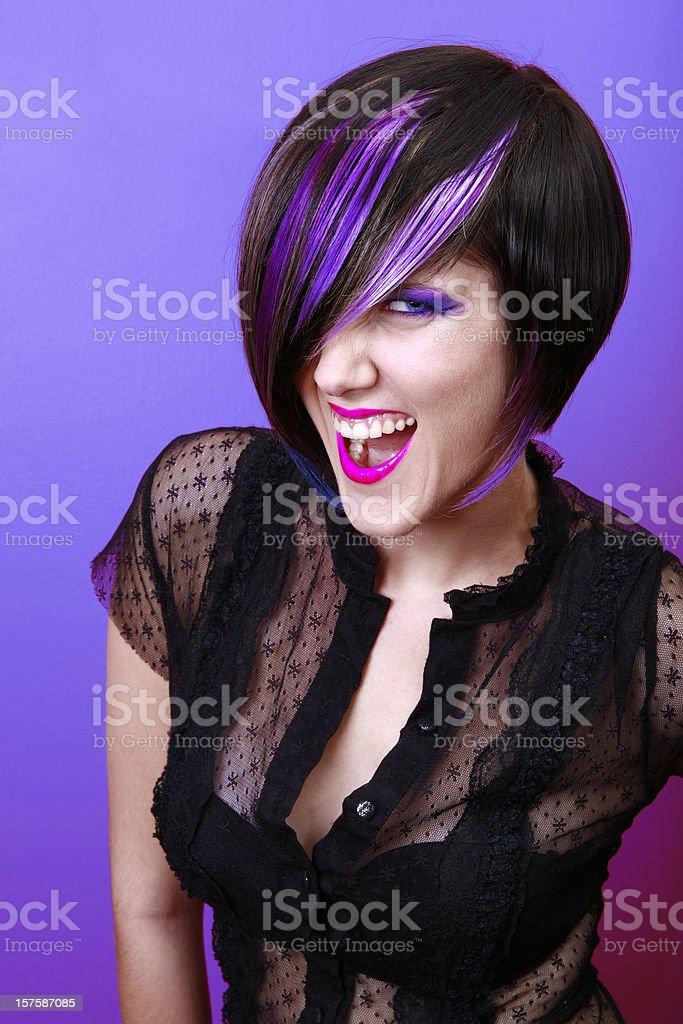 Purple Passion royalty-free stock photo