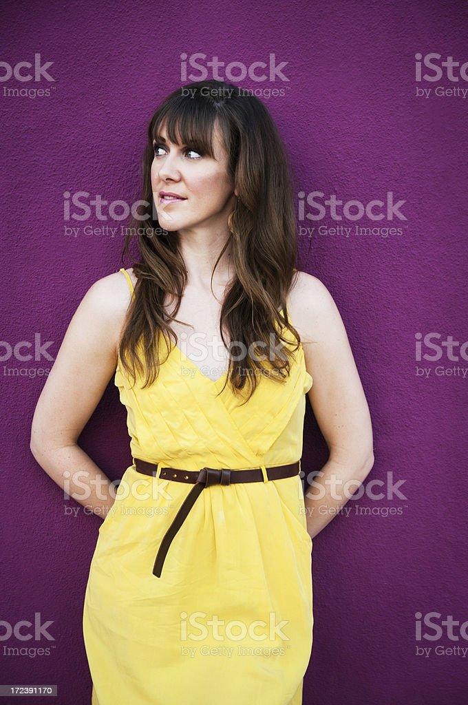 Purple royalty-free stock photo