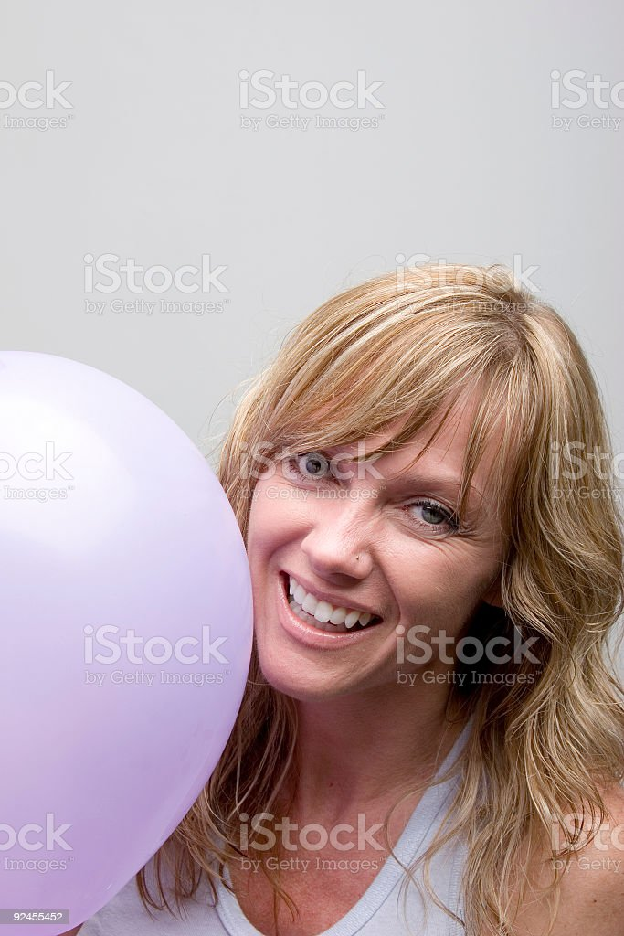 Purple stock photo