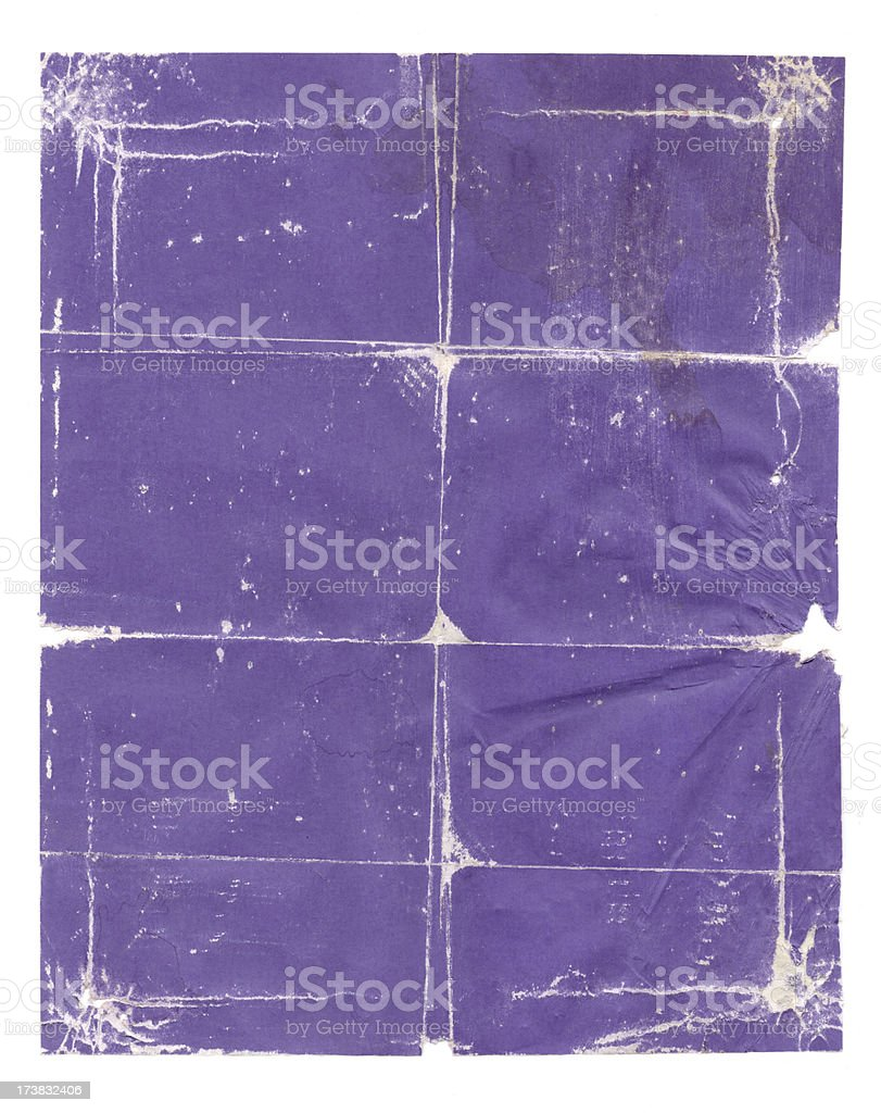 Purple Poster Background royalty-free stock photo