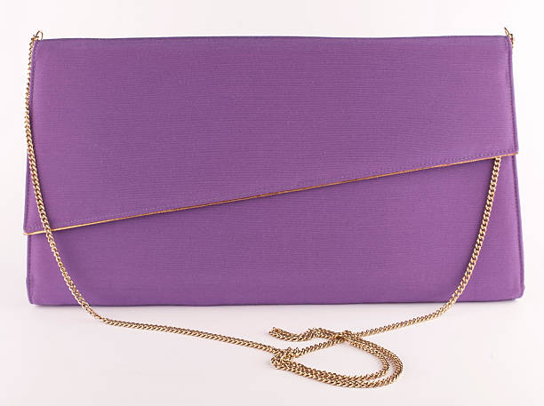 Purple Purse stock photo