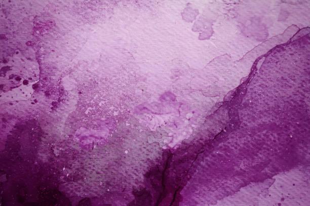 Lila / rot Aquarell Hintergrund – Foto