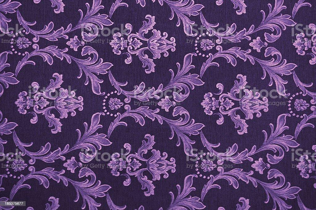 Purple Retro Pattern royalty-free stock photo