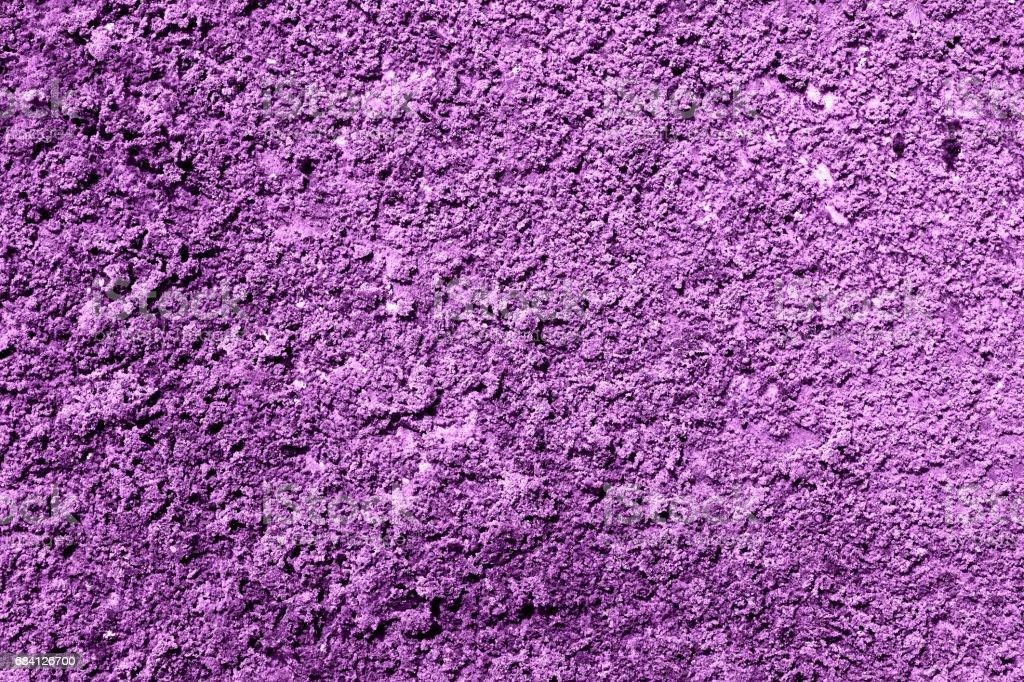 Purple revetment wall putty macro texture background zbiór zdjęć royalty-free