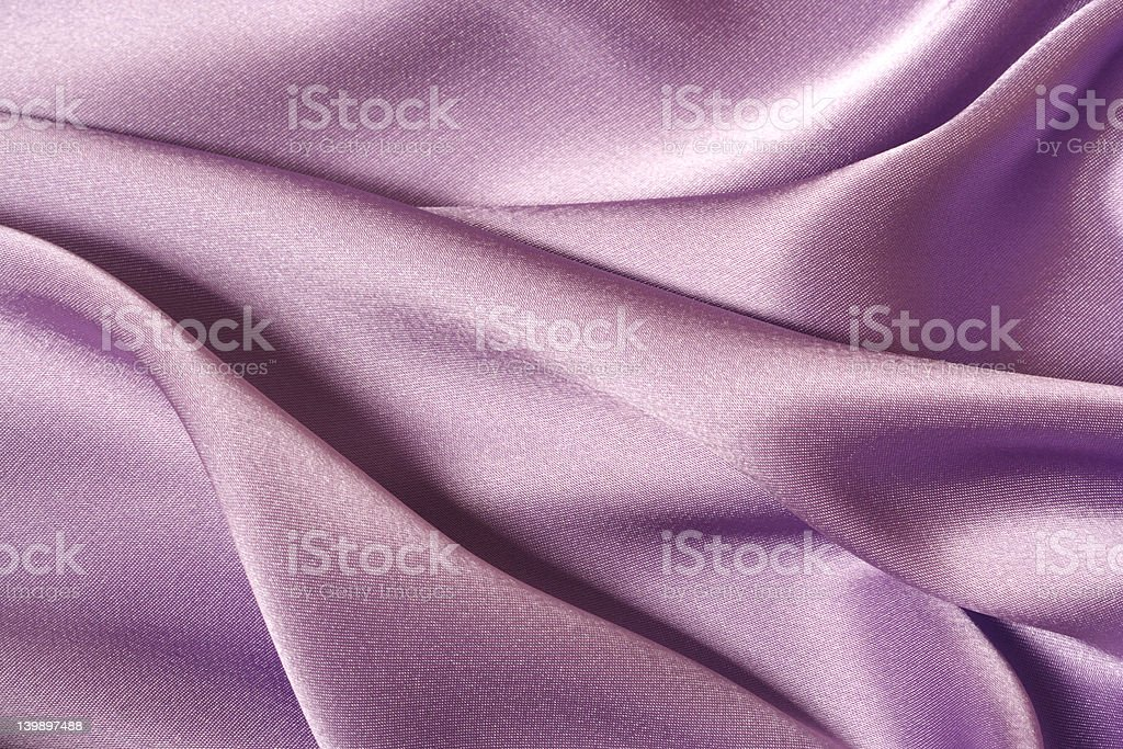 Purple Satin royalty-free stock photo