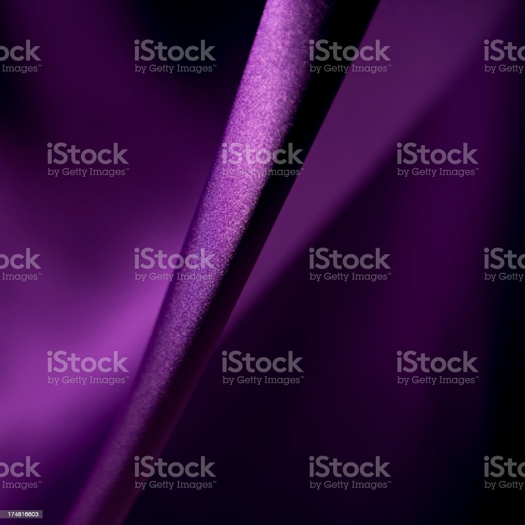 Purple satin stock photo