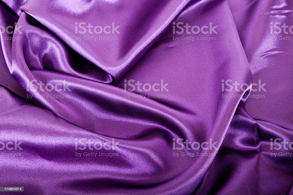 Purple silk background royalty-free stock photo