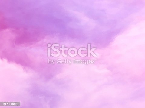917116520 istock photo Purple sky and cloud background 917116542
