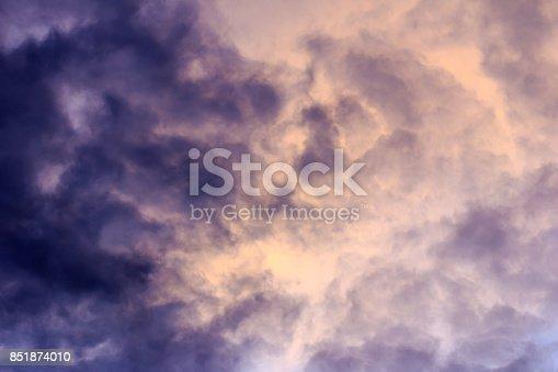 istock Purple sky 851874010