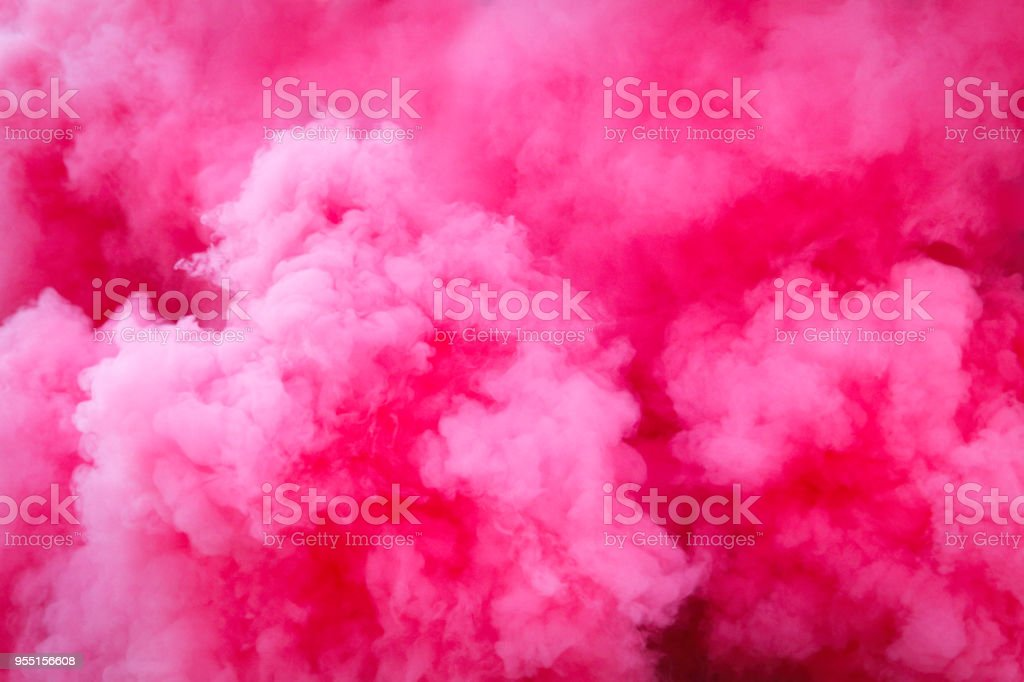 Purple smoke background stock photo