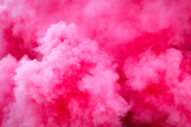 purple smoke background - pink color stock pictures, royalty-free photos & images