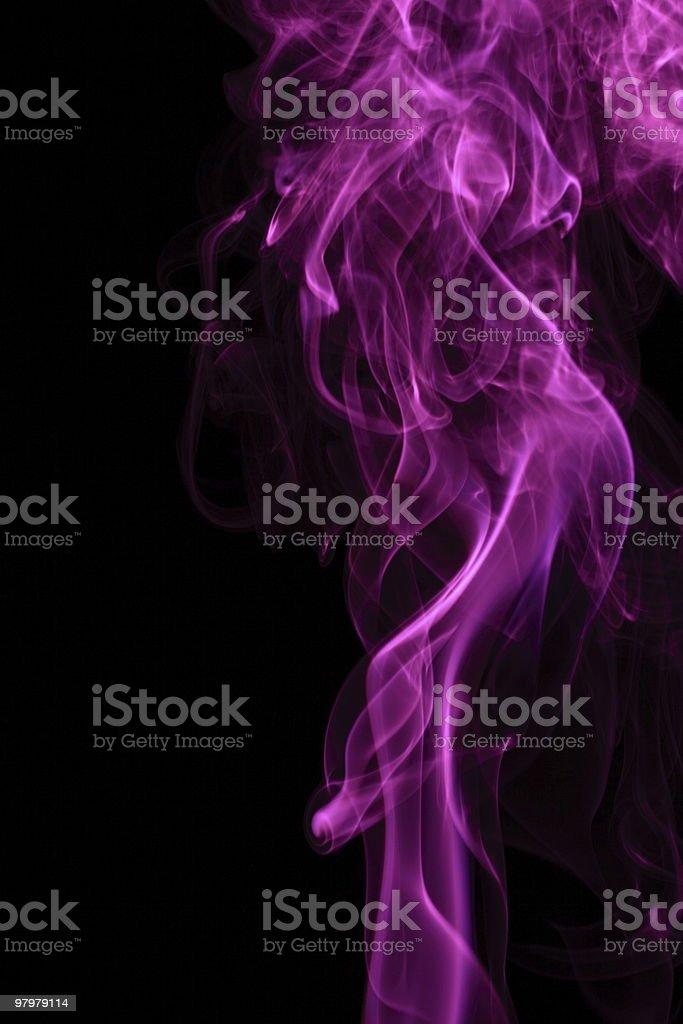 Purple Smoke Background royalty-free stock photo