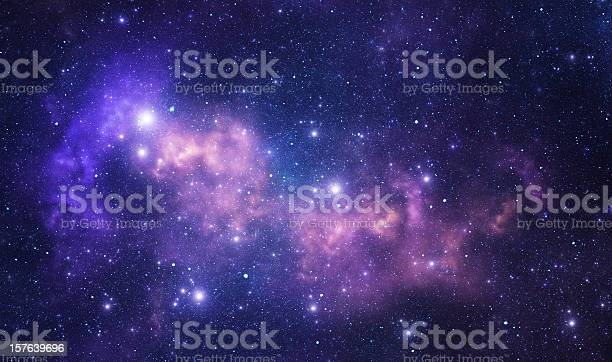 Photo of Purple space stars