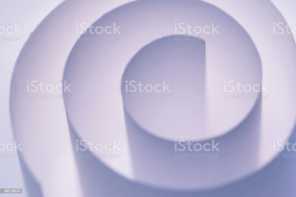 Purple Spiral royalty-free stock photo