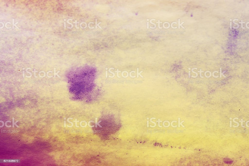 purple spreads ink on white wrinkled paper foto stock royalty-free