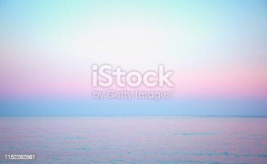 istock Purple sunset at the sea 1152262561