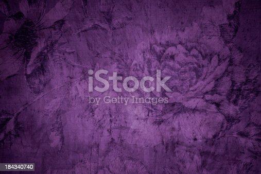 istock Purple Victorian Background 184340740
