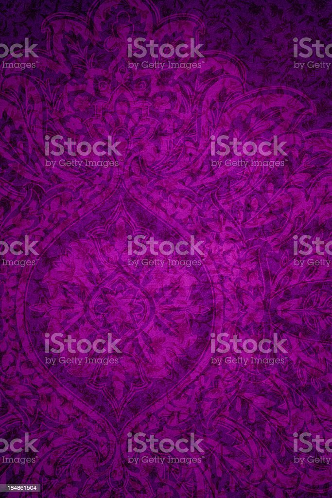 Purple Vintage Abstract Background stock photo
