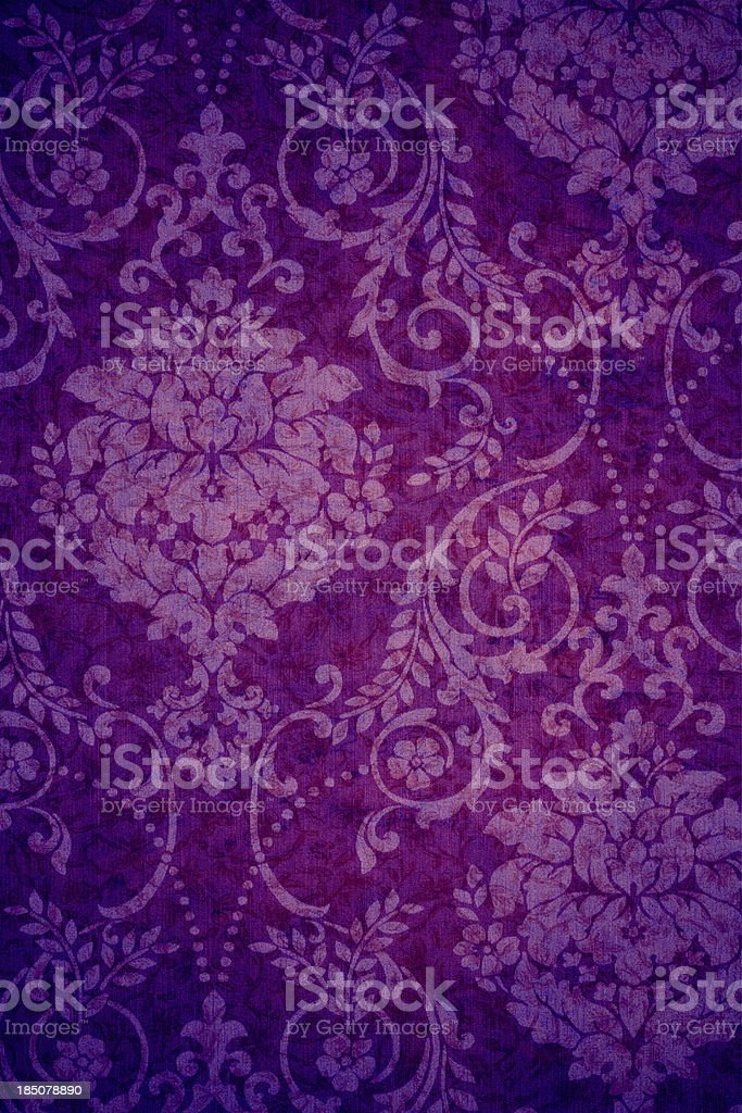 Blackpink Zero Budget: Purple Vintage Background Stock Photo