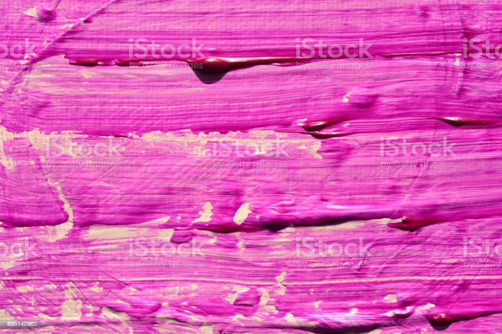 Purple, violet gouache texture. Textured red wall. Grain paint wall background or texture with gradient. stock photo