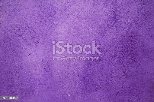 istock Purple wall 89219959