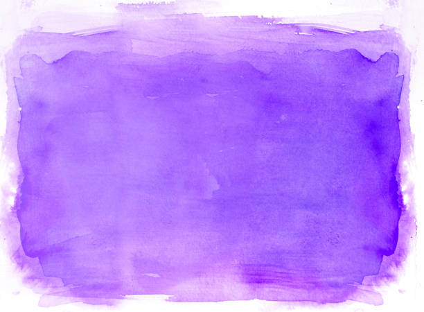 purple watercolor background - purple watercolor stock pictures, royalty-free photos & images