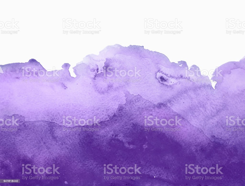 Purple watercolor background stock photo