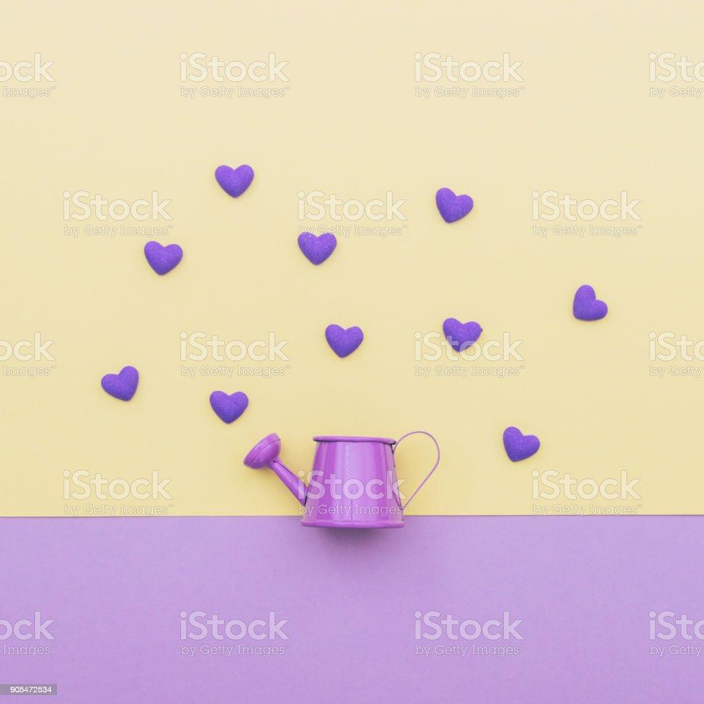 Regadera Color Púrpura Para Las Flores - Fotografía de stock y más ...
