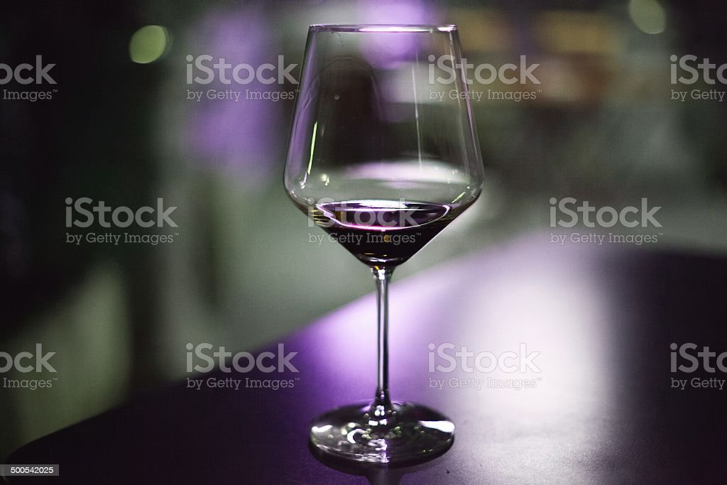 purple wine glass royalty-free stock photo