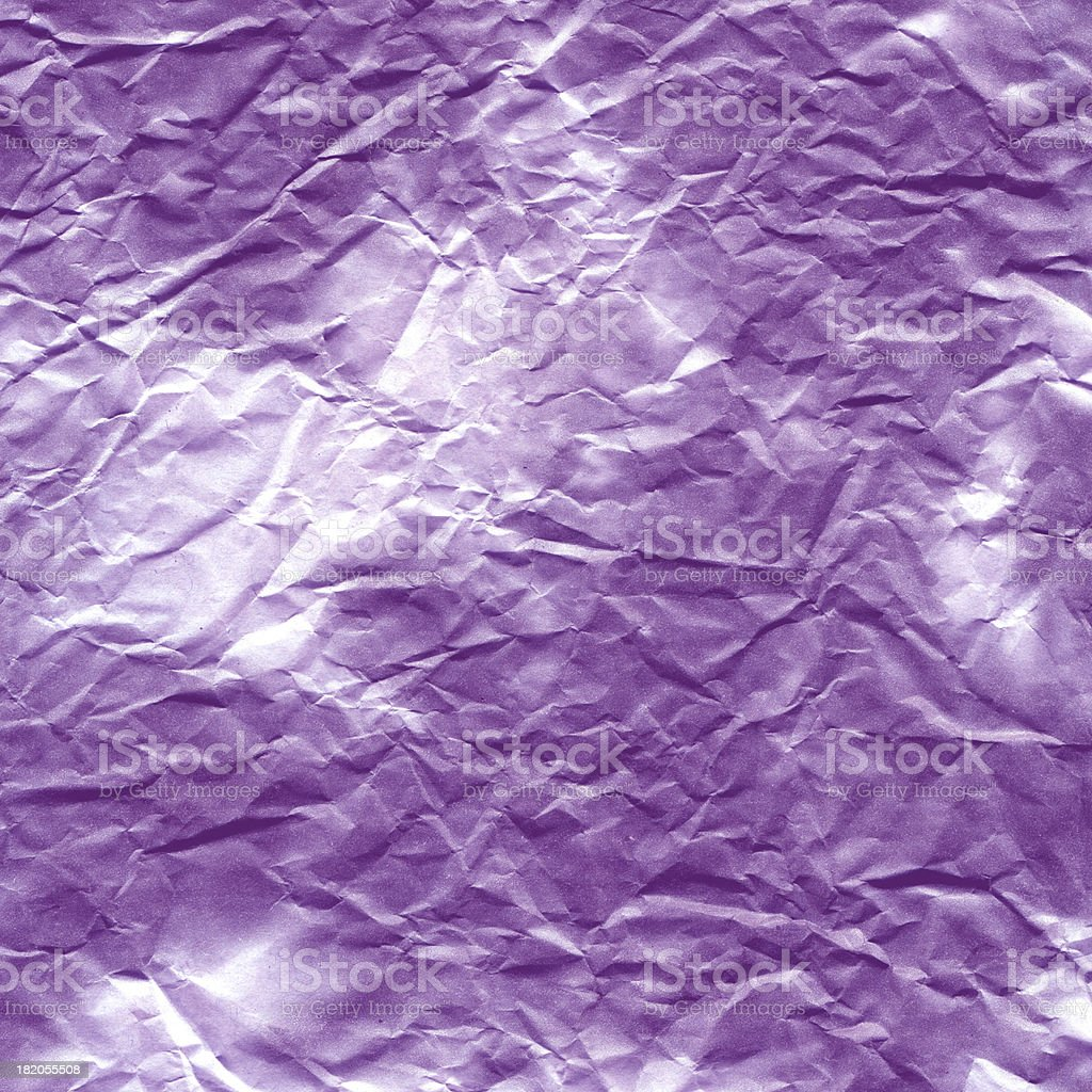 purple wrinkled paper royalty-free stock photo