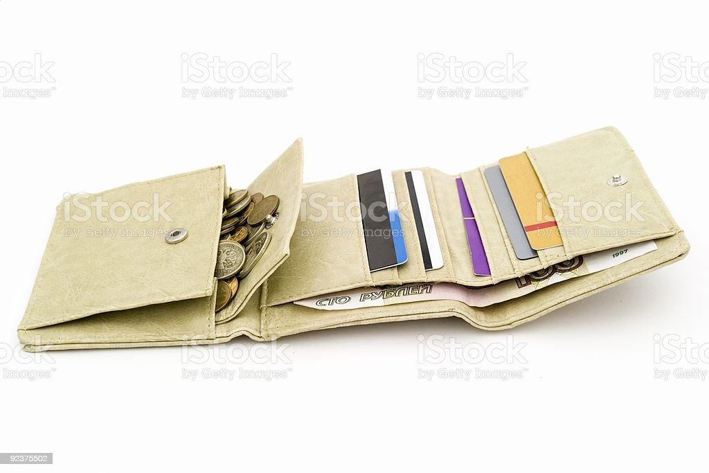 purse royalty-free stock photo