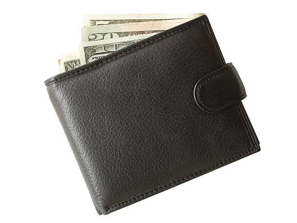 purse with money - wallet stock pictures, royalty-free photos & images