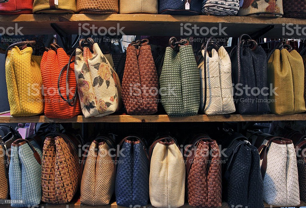 Purses royalty-free stock photo