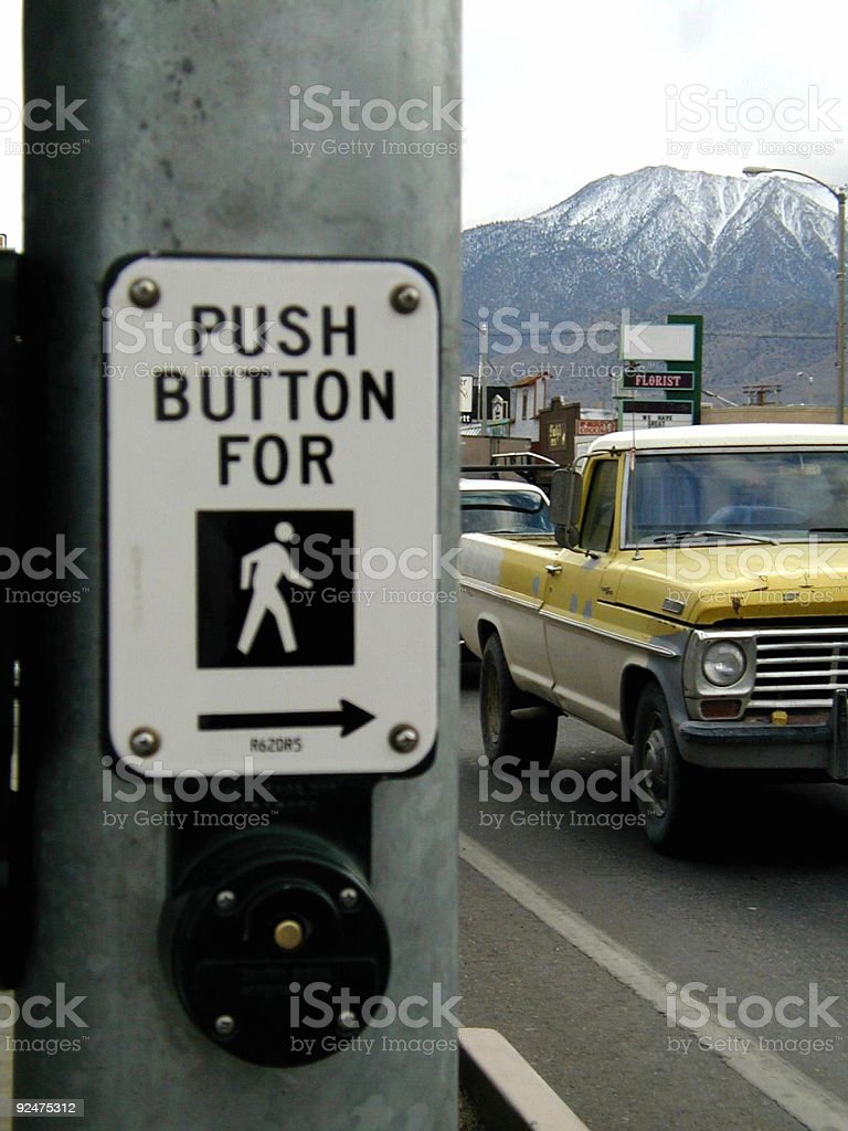 Push Button royalty-free stock photo