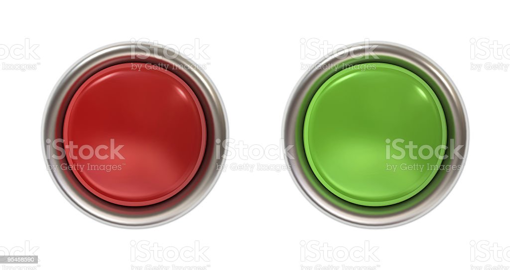 Botón pulsador - foto de stock