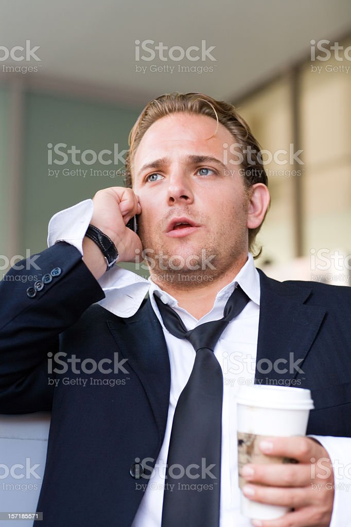 push cash stress royalty-free stock photo