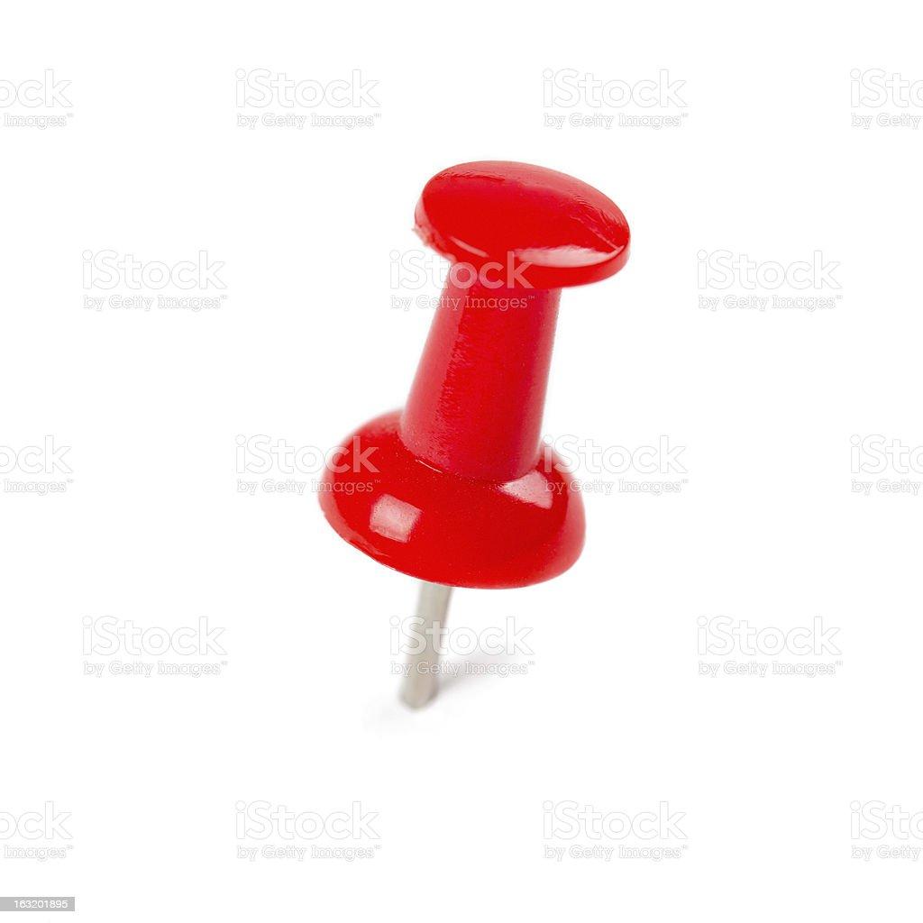 Push pin royalty-free stock photo