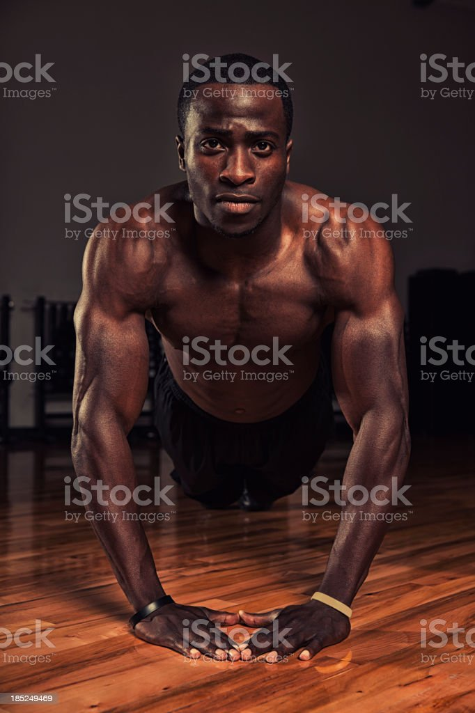 push up stock photo