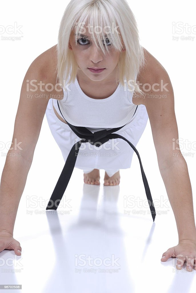 Push up royalty-free stock photo