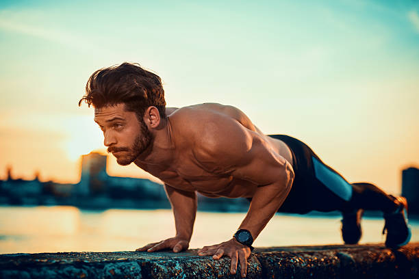 push ups - push up stock photos and pictures