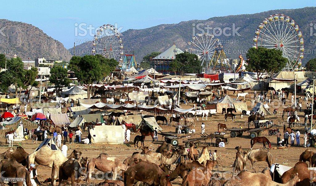 Pushkar Fair, Rajasthan stock photo