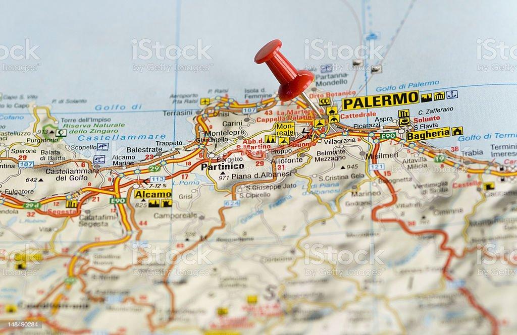 Via Carini Palermo Mappa