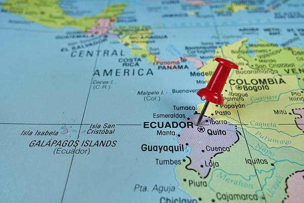 Royalty Free Ecuador Map Pictures Images And Stock Photos IStock - Ecuador map